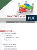 Clase 4 Métodos y funciones