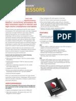Snapdragon 400 Processor Product Brief