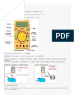 Manual Polímetro