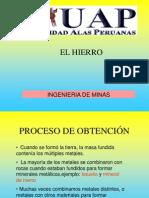 7. Los Metales- EL HIERRO