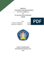 Proposal Pkl PT Wilmar Nabati Indonesia 2014