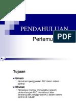 Pendahuluan PLC (definisi, perkembangan dan jenis plc)