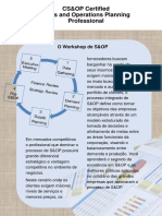 Workshop de S&OP, Certified Sales and Operations Planning Professional