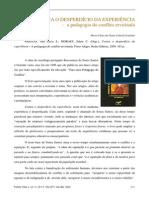 resenha livro Contra o desperdício da experiência A. L. Freitas.pdf