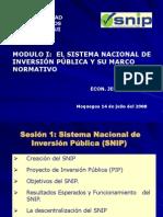 DGPM SNIP e Identificacion