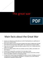 the great war english
