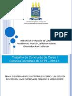 Modelo de Slides TCC I