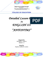 Lesson Plan in Assessment