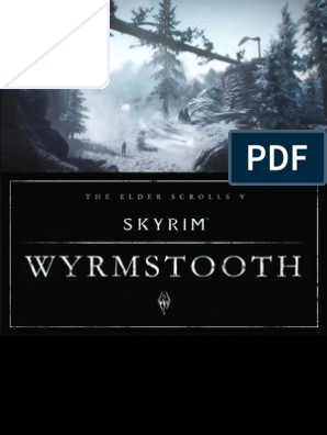 Skyrim Wyrmstooth Official Strategy Guide | Leisure