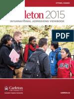 Carleton International Viewbook