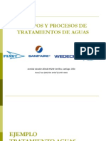 Equipos y Procesos de Tratamientos de Aguas