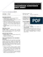 Fact Sheet - Potassium Nitrate
