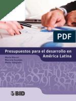 Presupuestos Para El Desarrollo en América Latina