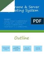 mainframe and server OS