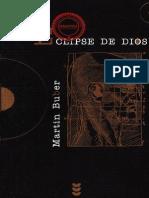Buber, Martin_Eclipse de Dios