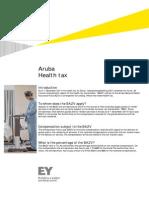 EY Newsflash - Health Tax - 1 December 2014