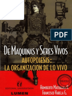 Maturana, Humberto y Varela, Francisco_De Máquinas y Seres Vivos.autopoiesis, La Organización de Lo Vivo