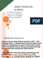 Perkembangan Teknologi Gelombang Mikro- Kel. 1