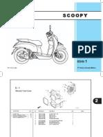 Honda Scoopy Parts Catalogue