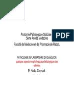 Pathologie Inflammatoire Du Ganglion