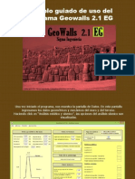 Tutorial GeoWalls 2.1