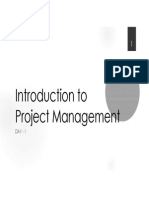 Project Management [Day-01]
