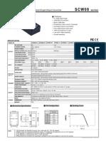 8W DC-DC Regulated Single Output Converter