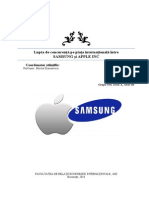 Proiect Marketing - Samsung vs Apple - 2014