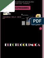 Diapositivas de ELECTROQUIMICA
