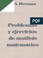 Problemas y Ejercicios de Analisis Matematico - Berman - En Español