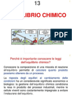 Slides Chimica i Equilibrio Chimico