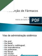 Absorção de Fármacos oral PDF.pdf
