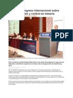 Comenzó Congreso Internacional Sobre Automatización y Control en Minería