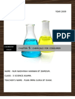 13300177 Chapter 5 Chemicals for Consumer