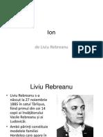 Ion de Liviu Rebreanu prezentare powerpoint