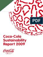 Coca-Cola Sustainability Report 2009
