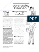 Understanding Chilldren, Educating Your Preschooler