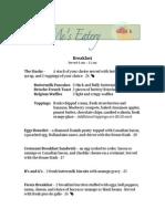 menu assignment clerget