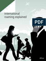 Africa International Roaming Explained English