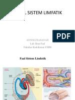 Faal Sistem Limfatik Redesaign Dr.annisa'
