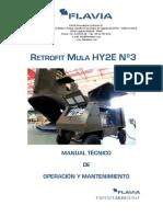 Mula SPA HY2E Manual Actualización