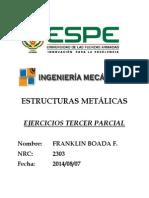 ejercicios estructuras metalicas