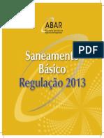 Saneamento Basico Regulacao 2013