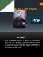 Biografía de Eloy Alfaro