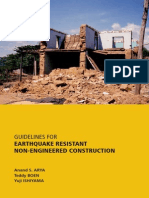 Earthquake Resistant Non-Engineered Construction