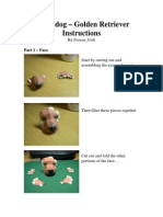 Nintendog - Golden Retreiver Instructions