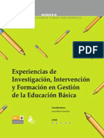 Experiencias e investigaciones de educación en México
