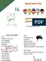 Díptic Nadal Infantil '14
