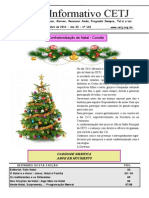 Informativo Mensal Do CETJ Dezembro de 2014