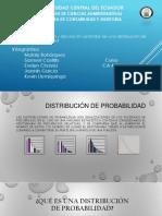 Media, Varianza y Desviacion Estandar de Una Distribucion de Probabilidad